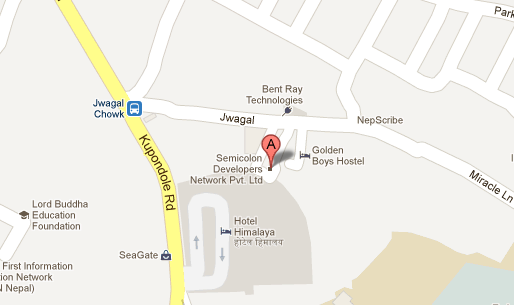 semicolon office address map